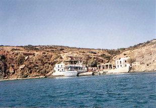 το λιμάνι της Γαύδου